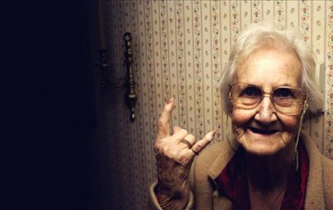 Grandma is metal as hell. Get her wisdom while you can.