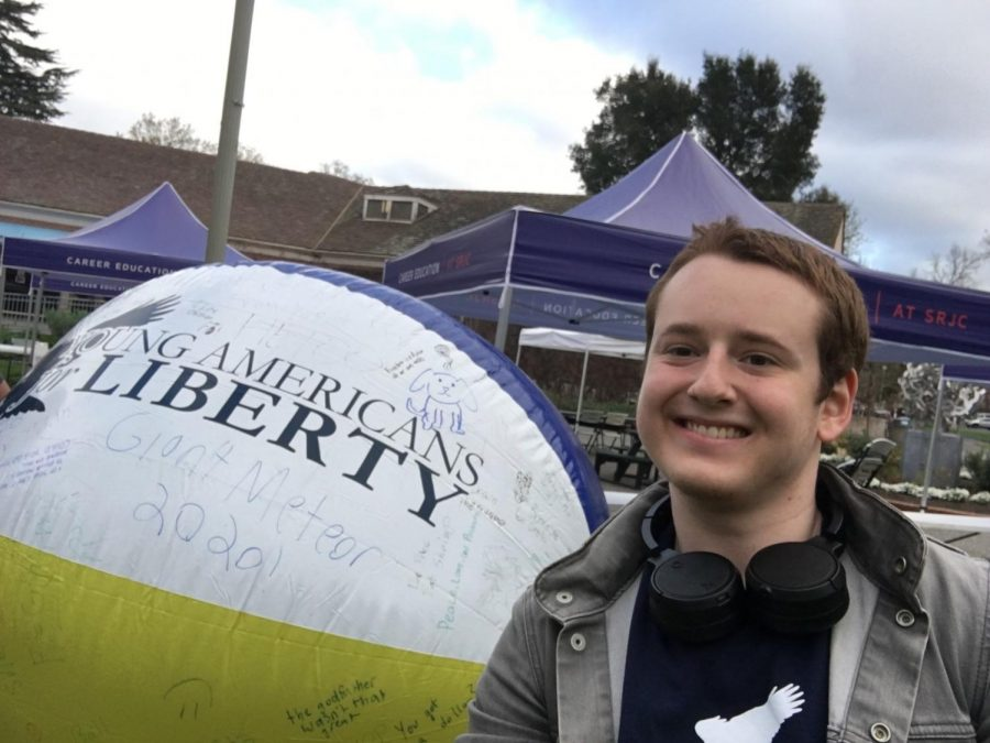 Q&A with West Below, president of SRJC'S Young Americans For Liberty chapter