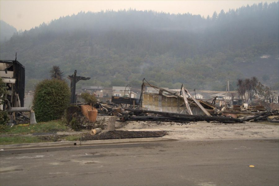 The Glass Incident claims a home on Mountain Hawk Drive in east Santa Rosas Skyhawk neighborhood.