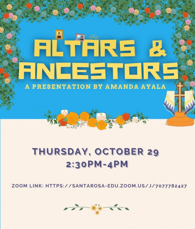 """Altars and Ancestors"": Free, digital Día de los Muertos altar-building workshop"