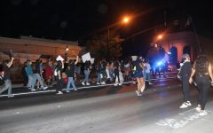 """Navigation to Story: """"No good cops in a racist system"""": Protestors march for Breonna Taylor in Petaluma"""