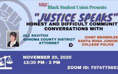 """Navigation to Story: SRJC BSU hosts online """"Justice Speaks"""" event"""