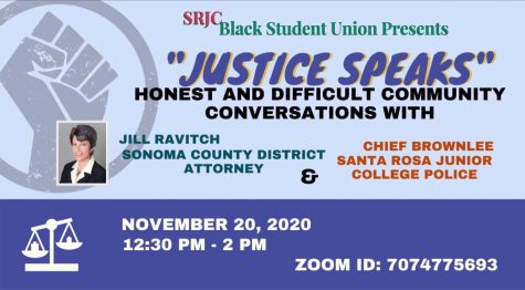 "SRJC BSU hosts online ""Justice Speaks"" event"