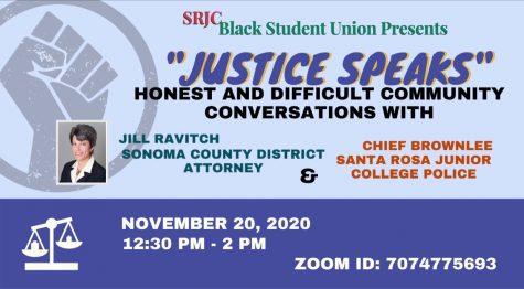 "SRJC BSU hosts online ""Justice Speaks"" event"