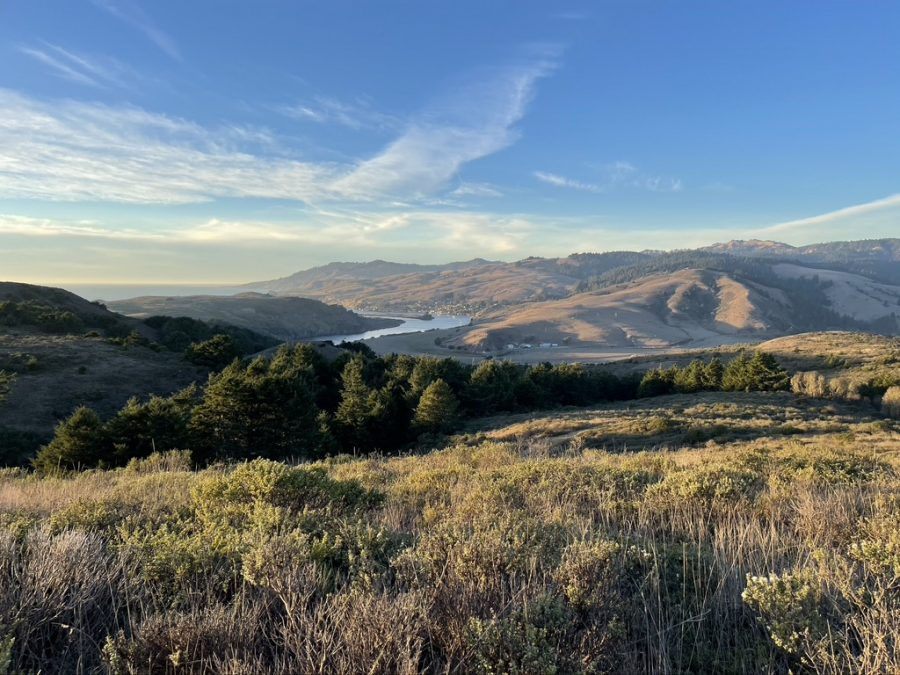 Eagle-eyed views of The Russian River, Jenner, and the Pacific Ocean are the rewards for hiking the strenuous Pomo Canyon Trail.