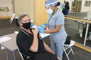 Santa Rosa Junior College opened two vaccination clinics last week. The SRJC clinic is for students only, while the Petaluma clinic is open to the public by appointment.
