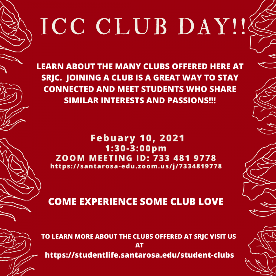 Prospective and current club members gathered on Zoom Wednesday in the first ICC Club Day of the semester.