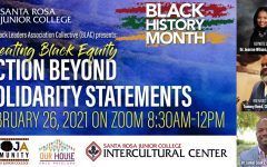 Navigation to Story: SRJC BLAC to present summit on combating racism Feb. 26