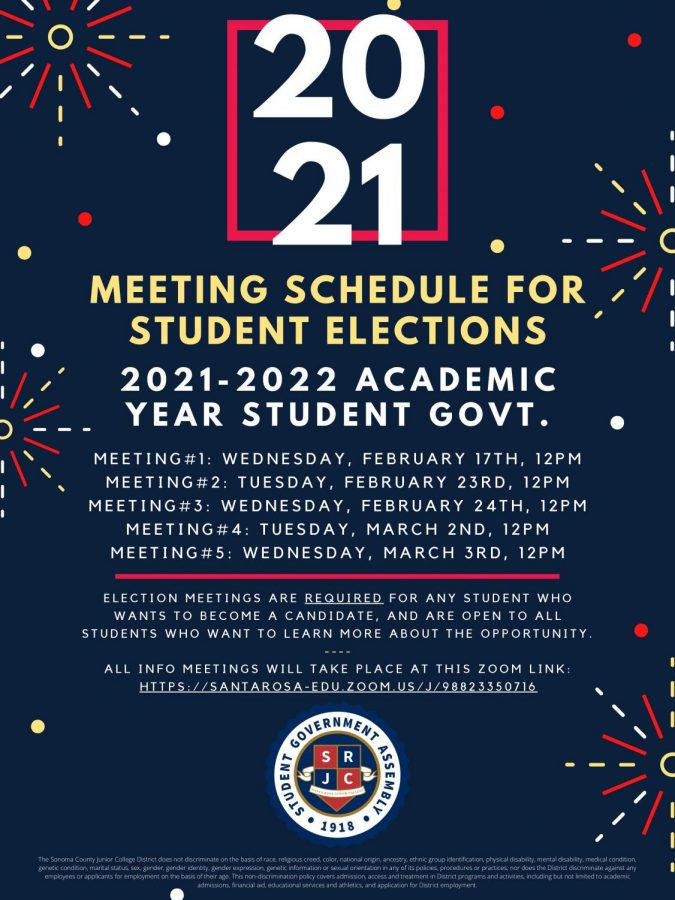 Interested in student government? Attend one of two mandatory meetings before applying