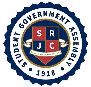 The SRJC Student Government Assembly logo.