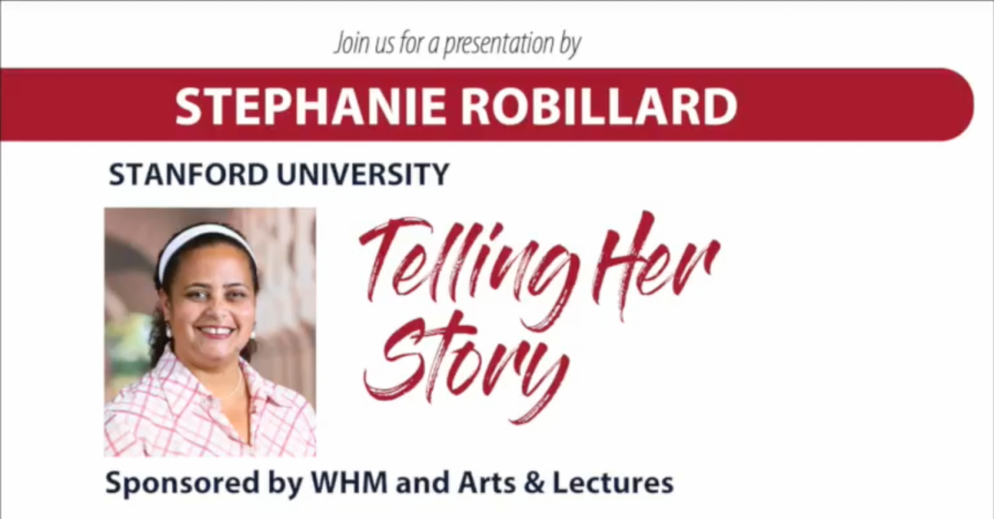 A+poster+for+Stephanie+Robillard%27s+%22Telling+Her+Story%22+event+about+the+importance+of+diverse+literature.