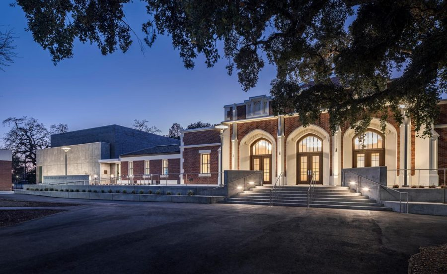An+image+of+SRJC%27s+theatre%2C+the+Luther+Burbank+Auditorium.