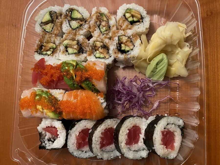 An assortment of sushi from Jojo Sushi Bar & Restaurant