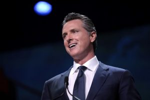 A photo of Gavin Newsom taken in 2019.