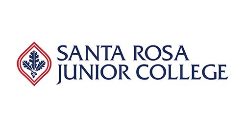 A photo of Santa Rosa Junior College's logo.