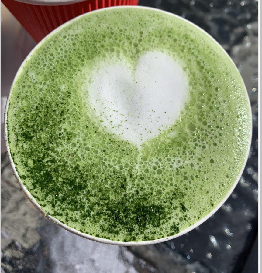 Lemongrass+Matcha+Latte