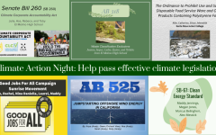 Navigation to Story: Climate Action Night spurs students to push for political change
