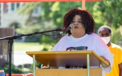 """Navigation to Story: SRJC Student Body President Delashay Carmona Benson wants you to """"turn on your human"""""""