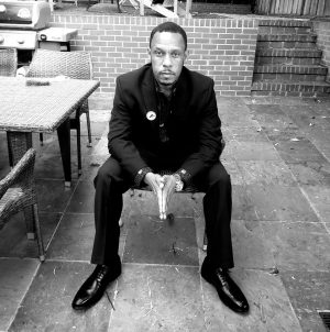 A photo of Black Panther Legacy Keepers cofounder Amin Cooley.