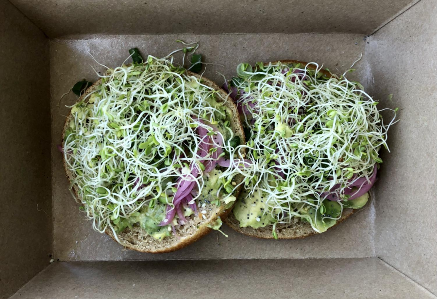 The Bagel Mills zesty take on avocado toast is full of flavor and a fun change of pace for avid avocado toast fans.