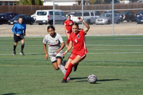 SRJC women's soccer team loses 4-1 against Sierra College