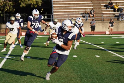 SRJC Bear Cubs lose first conference-play football game of the year in 2OT