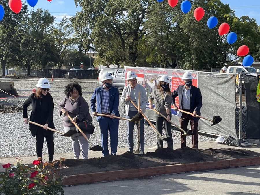 SRJC celebrates new student housing project with groundbreaking ceremony